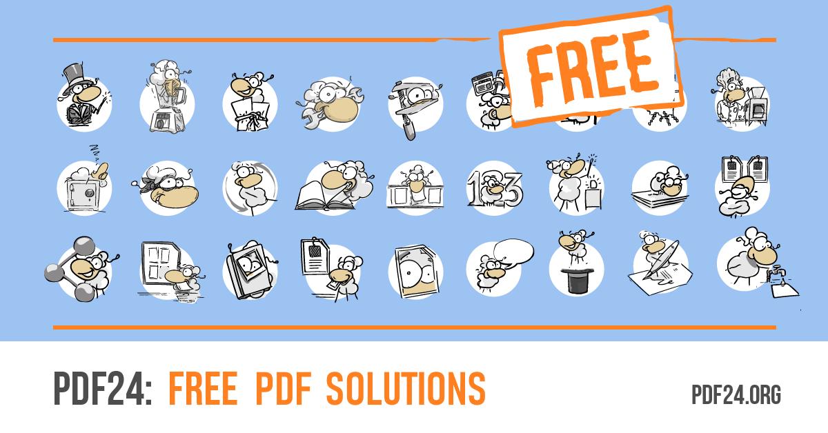 PDF Dateien mit PDF24 erstellen