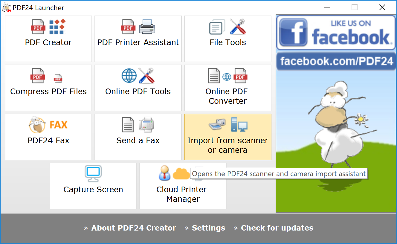 How to create PDF files with PDF24 | PDF24 Help Center